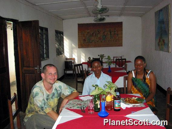 Udzungwa Guest House, Dinner