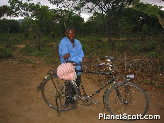 Bicycle Taxi, Zambia