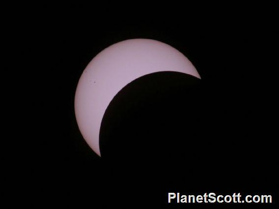 Total Solar Eclipse - and so on, check out the sunspots