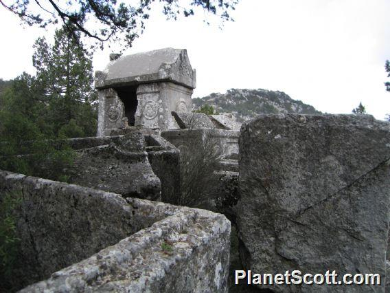 Termessos, Rock Tombs