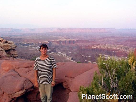 Barbara Above Canyonlands NP